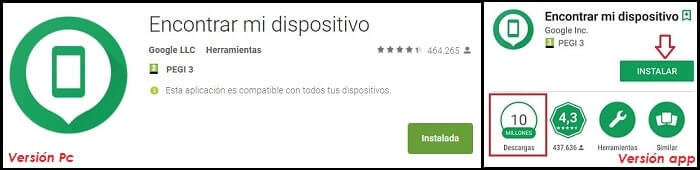 encontrar mi dispositivo con google