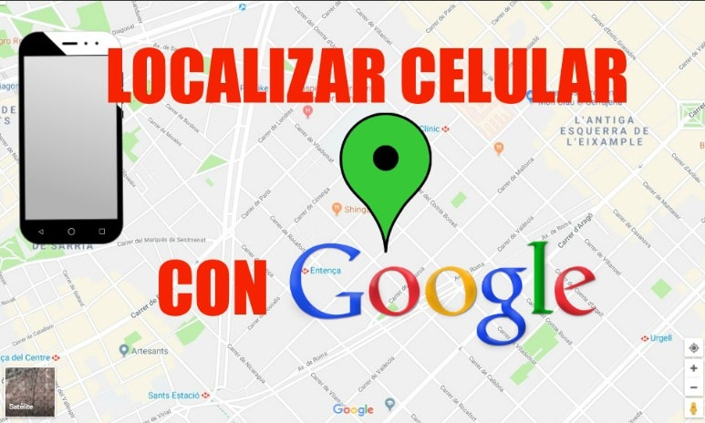 google map rastreador de celular