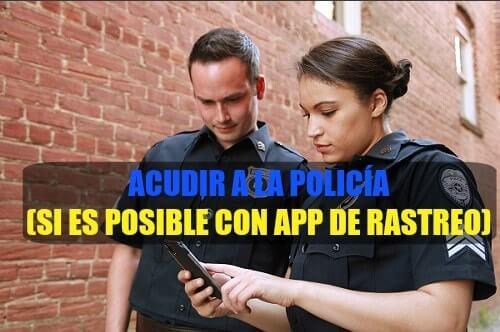 policía encontrar mi android