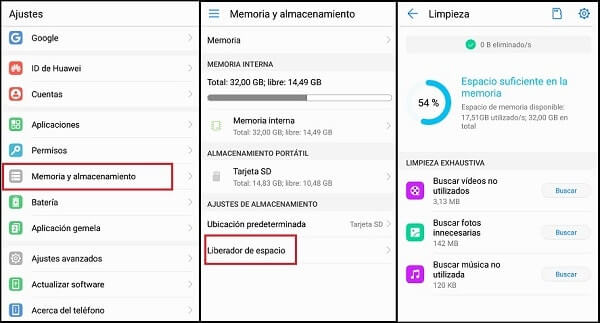 how to free up space on your mobile phone